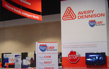 Avery Dennison Trade show booth