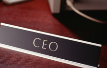 Ceo Nameplate