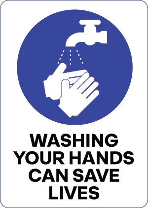 Washing your hands can save lives