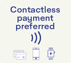 Contactless payment preferred