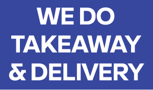 We do takeaway & delivery